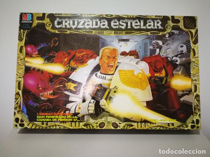 Juegos Antiguos: CRUZADA ESTELAR MB COMPLETO - Foto 27 - 160358922