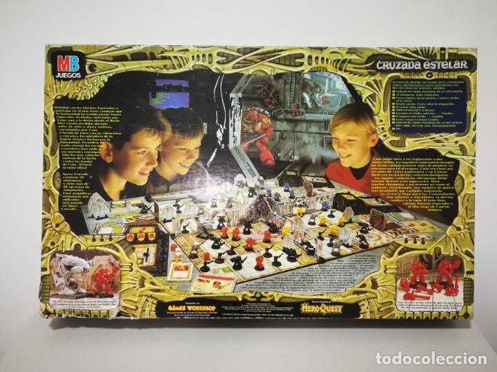 Juegos Antiguos: CRUZADA ESTELAR MB COMPLETO - Foto 31 - 160358922