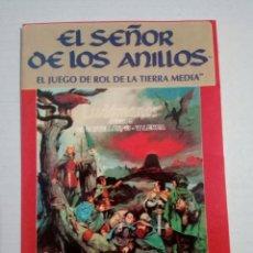 Juegos Antiguos: PEGATINA JUEGO DE ROL EL SEÑOR DE LOS ANILLOS JOC INTERNACIONAL. Lote 160467462