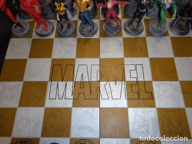 Juegos Antiguos: AJEDREZ DE MARVEL COMPLETO Y ORIGINAL - Foto 5 - 160558590
