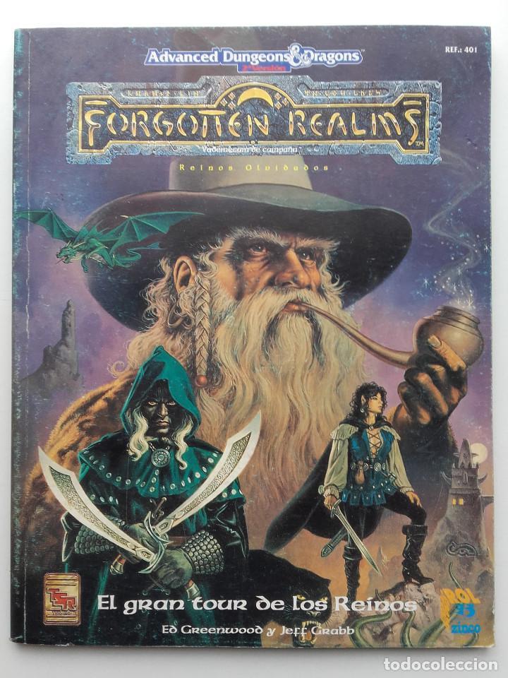 ADVANCED DUNGEONS & DRAGONS - EL GRAN TOUR DE LOS REINOS - FORGOTTEN REALMS - ZINCO ROL (Juguetes - Rol y Estrategia - Juegos de Rol)