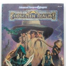 Juegos Antiguos: ADVANCED DUNGEONS & DRAGONS - EL GRAN TOUR DE LOS REINOS - FORGOTTEN REALMS - ZINCO ROL. Lote 160975846