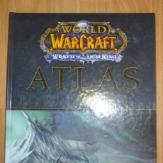 Juegos Antiguos: WORLD OF WARCRAFT : WRATH OF THE LICH KING. ATLAS. Lote 161653034