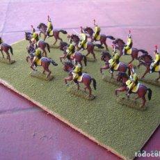 Juegos Antiguos: REGIMIENTO DE DRAGONES ESPAÑOLES DE LA GUERRA DE INDEPENDENCIA.ESCALA 1/72.. Lote 162005294