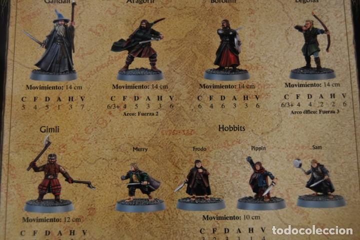 Juegos Antiguos: EL SEÑOR DE LOS ANILLOS - MINAS DE MORIA - BATALLAS ESTRATÉGICAS - GAMES WORKSHOP - JUEGO DE MESA - Foto 7 - 162582066