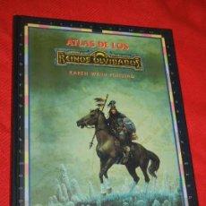 Juegos Antiguos: ATLAS DE LOS REINOS OLVIDADOS. DE KAREN WYNN FONSTAD - TIMUN MAS 1995. Lote 163380786