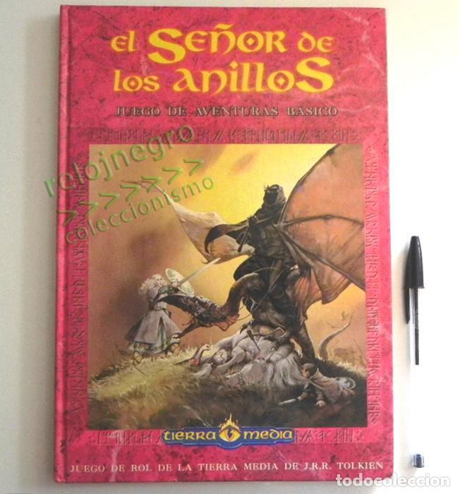 LIBRO - EL SEÑOR DE LOS ANILLOS - JUEGO DE AVENTURAS BÁSICO - DE LA TIERRA MEDIA DE JRR TOLKIEN JOC (Juguetes - Rol y Estrategia - Juegos de Rol)