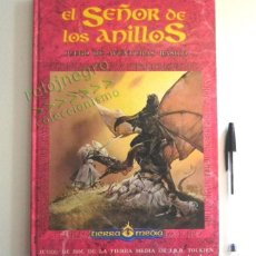 Juegos Antiguos: LIBRO - EL SEÑOR DE LOS ANILLOS - JUEGO DE AVENTURAS BÁSICO - DE LA TIERRA MEDIA DE JRR TOLKIEN JOC. Lote 164976834