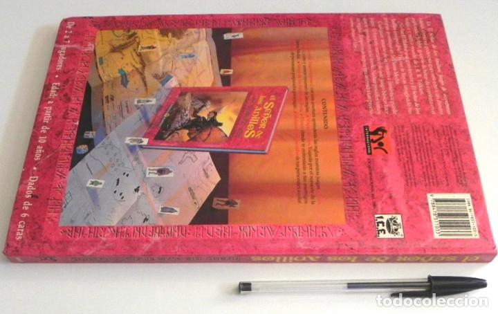 Juegos Antiguos: LIBRO - EL SEÑOR DE LOS ANILLOS - JUEGO DE AVENTURAS BÁSICO - DE LA TIERRA MEDIA DE JRR TOLKIEN JOC - Foto 6 - 164976834