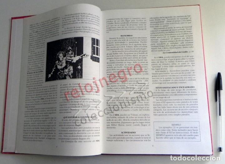 Juegos Antiguos: LIBRO - EL SEÑOR DE LOS ANILLOS - JUEGO DE AVENTURAS BÁSICO - DE LA TIERRA MEDIA DE JRR TOLKIEN JOC - Foto 3 - 164976834