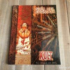 Juegos Antiguos: KULT 1ª EDICIÓN - GUÍA DEL JUGADOR - JUEGO DE ROL - M+D EDITORES 1998. Lote 165988606