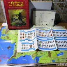 Juegos Antiguos: EL SEÑOR DE LOS ANILLOS, EL JUEGO DE LA TIERRA MEDIA, JOC INTERNATIONAL, 1991, ROL. Lote 166036370