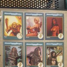 Juegos Antiguos: TRADING CARDS - ADVANCED DUNGEONS & DRAGONS - FORGOTTEN REALMS - DARK SUN - RAVENLOFT - AL-QADIM. Lote 166683132