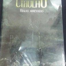 Giochi Antichi: EL RASTRO DE CTHULHU. REGLAS ABREVIADAS . Lote 167269012