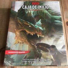 Juegos Antiguos: DUNGEONS & DRAGONS 5 EDICIÓN - CAJA DE INICIO - EDGE - PRECINTADA. Lote 194404555