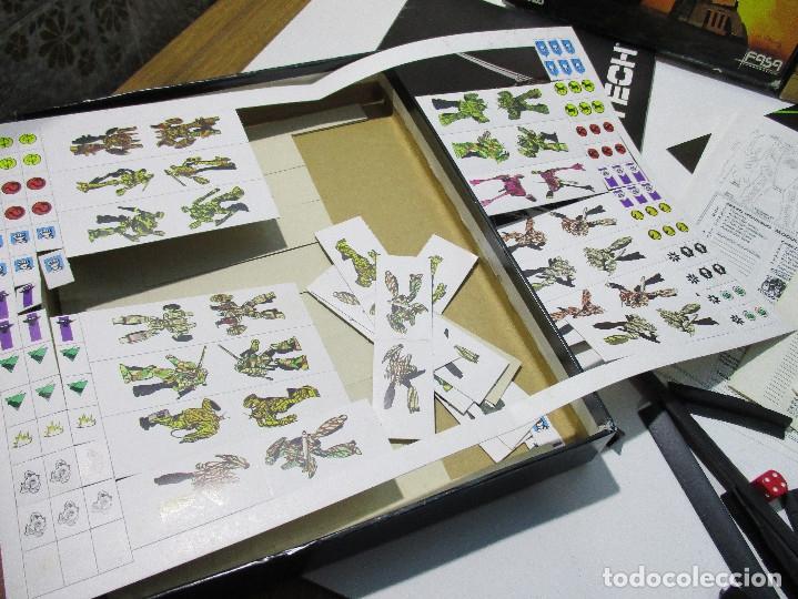 Juegos Antiguos: juego mesa BATTLETECH,UN JUEGO DE BATALLA MECANIZADA,Diseños Orbitales,Fasa,sin uso,leer descripción - Foto 3 - 167748644
