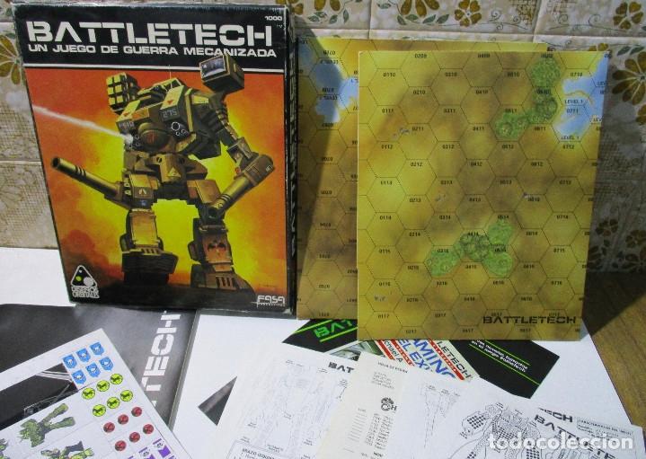 Juegos Antiguos: juego mesa BATTLETECH,UN JUEGO DE BATALLA MECANIZADA,Diseños Orbitales,Fasa,sin uso,leer descripción - Foto 4 - 167748644