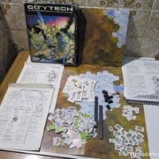 Juegos Antiguos: JUEGO DE MESA CITYTECH, COMBATE URBANO EN EL UNIVERSO BATTLETECH, DISEÑOS ORBITALES, FASA. Lote 167749601