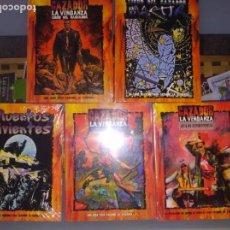 Juegos Antiguos: LIBROS DE ROL EL CAZADOR NUEVOS SIN DESEMBALAR. Lote 168151004