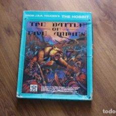 Juegos Antiguos: BATALLA EJÉRCITOS SEÑOR ANILLOS BATTLE FIVE ARMIES TOLKIEN ICE JUEGO TABLERO 1983 ESTRATEGIA HOBBIT. Lote 168205180