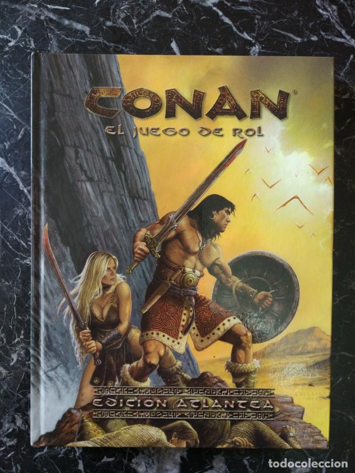 CONAN EL JUEGO DE ROL EDICION ATLANTEA (EDGE EDG7700) - TAPA DURA (Juguetes - Rol y Estrategia - Juegos de Rol)