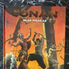 Juegos Antiguos: CONAN ISLAS PIRATAS (EDGE EDG7704) - TAPA DURA. Lote 255922910