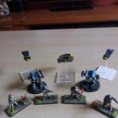Juegos Antiguos: LOTE 9 FIGURAS ROL. Lote 169039704