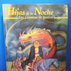 Juegos Antiguos: HIJAS DE LA NOCHE, LAS CRÓNICAS DE SANTON - JUEGO DE ROL RUNEQUEST - JOC INTERNACIONAL, 1992. Lote 169411066