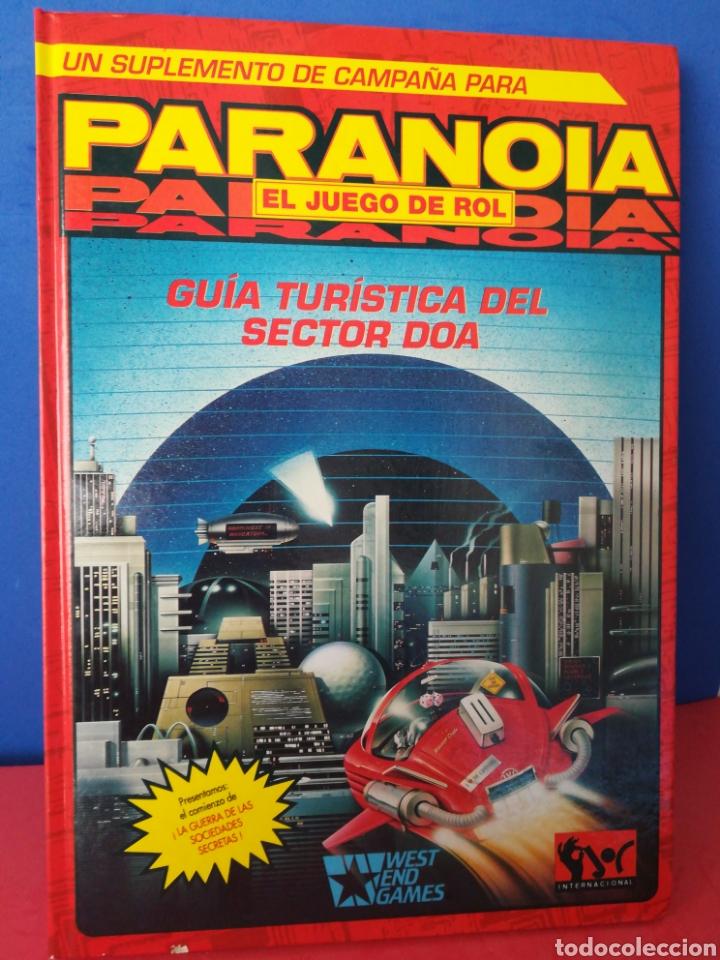 GUÍA TURÍSTICA SECTOR DOA/PARANOIA/SUPLEMENTO CAMPAÑA/JUEGO DE ROL/INCLUYE MAPA-PÓSTER/JOC, 1993 (Juguetes - Rol y Estrategia - Juegos de Rol)