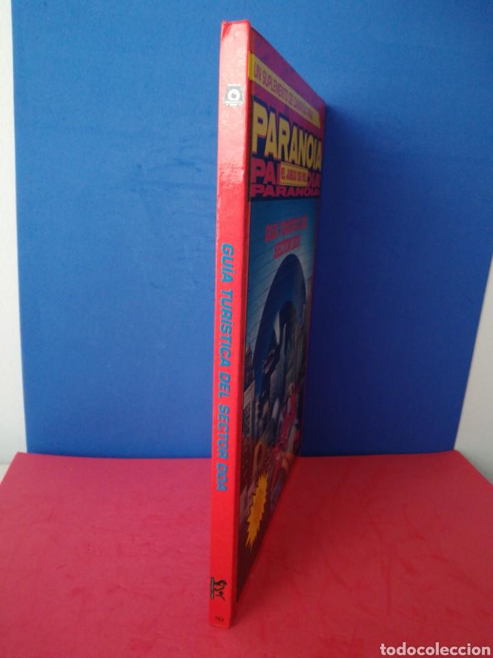 Juegos Antiguos: Guía turística sector DOA/Paranoia/Suplemento campaña/Juego de rol/Incluye mapa-póster/Joc, 1993 - Foto 2 - 170107632