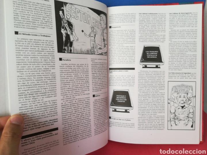 Juegos Antiguos: Guía turística sector DOA/Paranoia/Suplemento campaña/Juego de rol/Incluye mapa-póster/Joc, 1993 - Foto 6 - 170107632