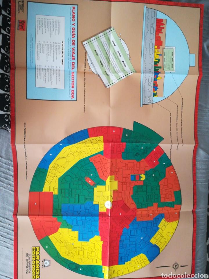 Juegos Antiguos: Guía turística sector DOA/Paranoia/Suplemento campaña/Juego de rol/Incluye mapa-póster/Joc, 1993 - Foto 7 - 170107632
