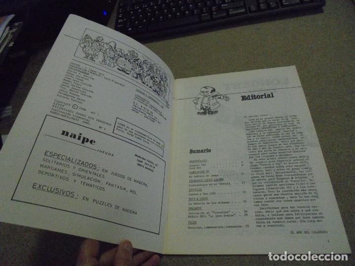 Juegos Antiguos: LIDER LA REVISTA DE LOS JUEGOS DE ROL.AÑO I.-Nº 4.-SEGUNDA EPOCA DICIEMBRE 1986,ESPECIAL ESCENARIOS - Foto 2 - 170300504