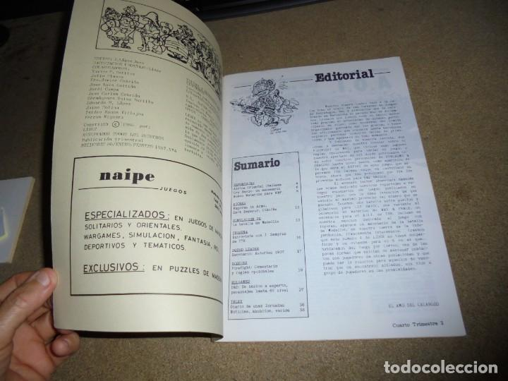 Juegos Antiguos: LIDER LA REVISTA DE LOS JUEGOS DE ROL.AÑO I.-Nº 4.-SEGUNDA EPOCA DICIEMBRE 1986,ESPECIAL ESCENARIOS - Foto 4 - 170300504