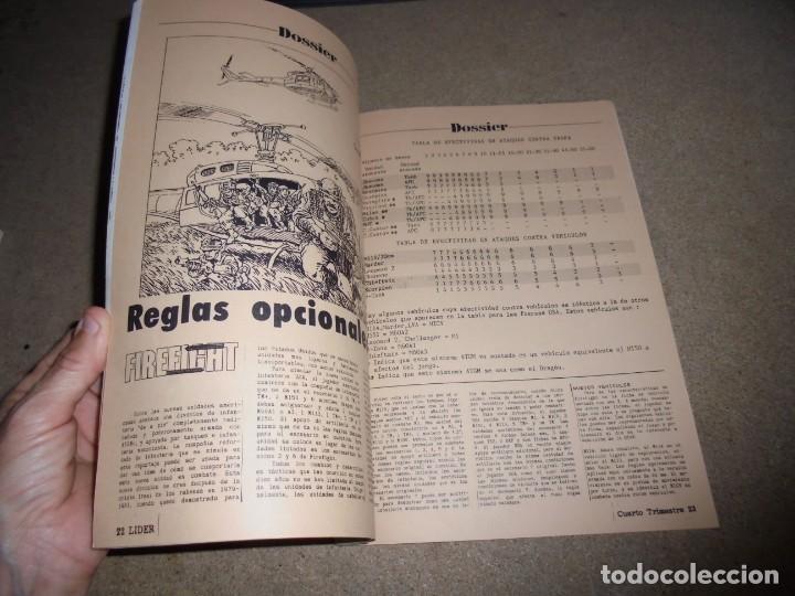Juegos Antiguos: LIDER LA REVISTA DE LOS JUEGOS DE ROL.AÑO I.-Nº 4.-SEGUNDA EPOCA DICIEMBRE 1986,ESPECIAL ESCENARIOS - Foto 6 - 170300504