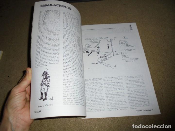 Juegos Antiguos: LIDER LA REVISTA DE LOS JUEGOS DE ROL.AÑO I.-Nº 4.-SEGUNDA EPOCA DICIEMBRE 1986,ESPECIAL ESCENARIOS - Foto 7 - 170300504