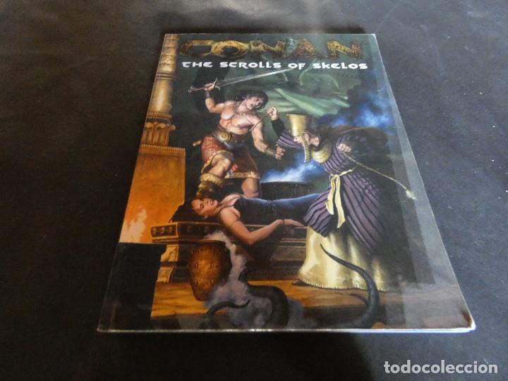 LIBROJUEGO ROL EN INGLES CONAN SCROLLS OF SKELOS PESA 390 GR (Juguetes - Rol y Estrategia - Juegos de Rol)