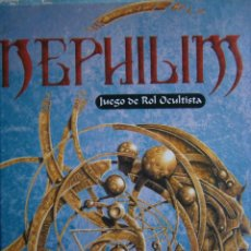 Juegos Antiguos: NEPHILIM JUEGO DE ROL OCULTISTA JOC INTERNACIONAL 1995 MANUAL GUIA. Lote 170423100