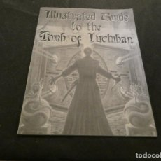 Juegos Antiguos: LIBRO EN INGLES ILUSTRATED GUIDE TO THE TOMB OF ICHBAN, PESA UNOS 200 GRAMOS. Lote 170489204