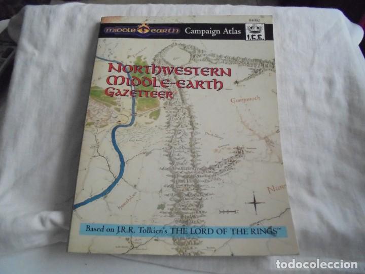NORTHWESTERN MIDDLE-EARTH GAZETTEER DE LA TIERRA MEDIA DEL NOROESTE..MARK RABUT.TOLKIEN 1992 (Juguetes - Rol y Estrategia - Juegos de Rol)