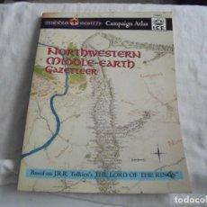 Juegos Antiguos: NORTHWESTERN MIDDLE-EARTH GAZETTEER DE LA TIERRA MEDIA DEL NOROESTE..MARK RABUT.TOLKIEN 1992. Lote 171187534