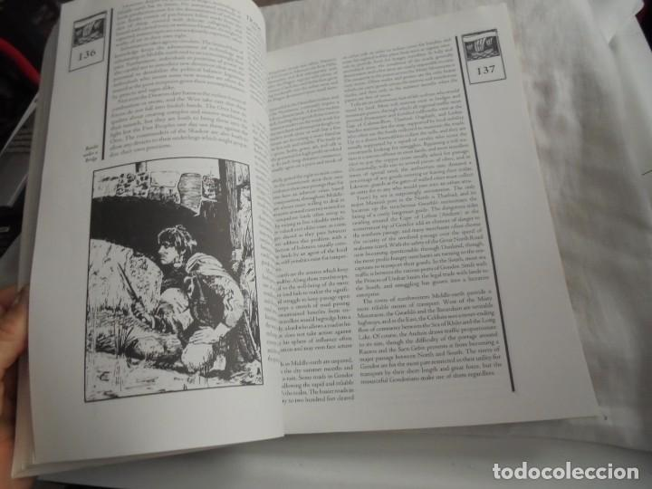 Juegos Antiguos: NORTHWESTERN MIDDLE-EARTH GAZETTEER DE LA TIERRA MEDIA DEL NOROESTE..MARK RABUT.TOLKIEN 1992 - Foto 3 - 171187534