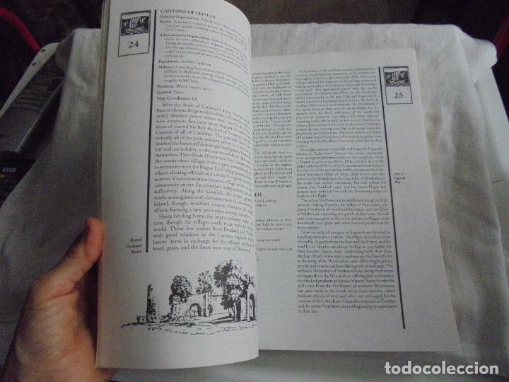Juegos Antiguos: NORTHWESTERN MIDDLE-EARTH GAZETTEER DE LA TIERRA MEDIA DEL NOROESTE..MARK RABUT.TOLKIEN 1992 - Foto 7 - 171187534
