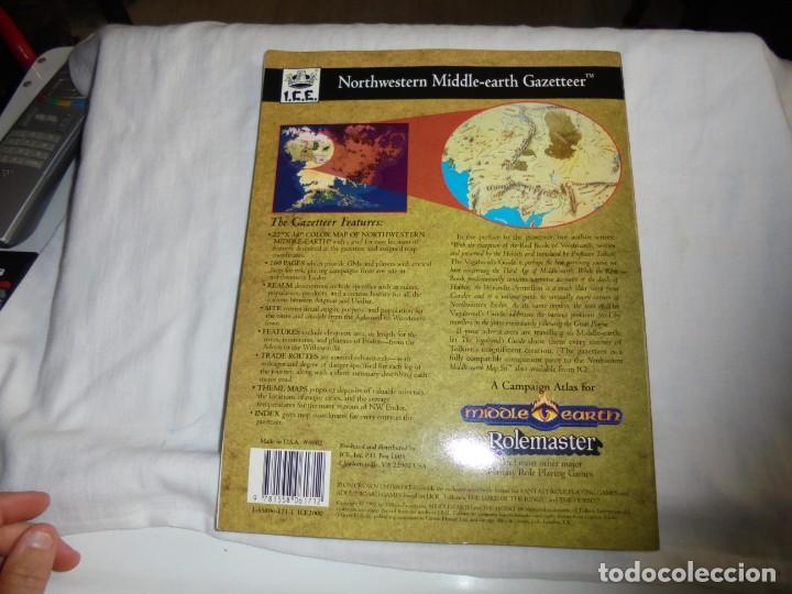 Juegos Antiguos: NORTHWESTERN MIDDLE-EARTH GAZETTEER DE LA TIERRA MEDIA DEL NOROESTE..MARK RABUT.TOLKIEN 1992 - Foto 8 - 171187534