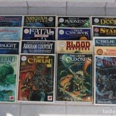 Juegos Antiguos: LOTE 17 LLAMADA CTHULHU CALL OF CHAOSIUM JUEGO ROL RPG BOOK JOBLOT LIBRO MANUAL MÓDULO AVENTURA. Lote 113230471