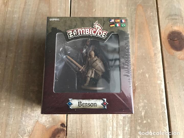 JUEGO DE MESA - ZOMBICIDE BLACK PLAGUE - BENSON - EDGE - GUILLOTINE GAMES - PRECINTADO (Juguetes - Rol y Estrategia - Juegos de Rol)