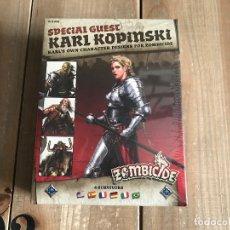 Juegos Antiguos: JUEGO DE MESA - ZOMBICIDE BLACK PLAGUE - SPECIAL GUEST: KARL KOPINSKI - EDGE - CMON - PRECINTADO. Lote 171368527