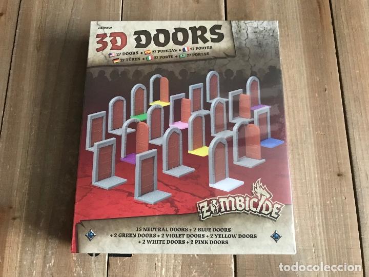 JUEGO DE MESA - ZOMBICIDE BLACK PLAGUE - 3D DOORS PACK - EDGE - CMON - PRECINTADO (Juguetes - Rol y Estrategia - Juegos de Rol)