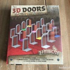 Juegos Antiguos: JUEGO DE MESA - ZOMBICIDE BLACK PLAGUE - 3D DOORS PACK - EDGE - CMON - PRECINTADO. Lote 171369709
