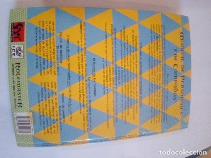 Juegos Antiguos: ROLEMASTER - Foto 3 - 171597053